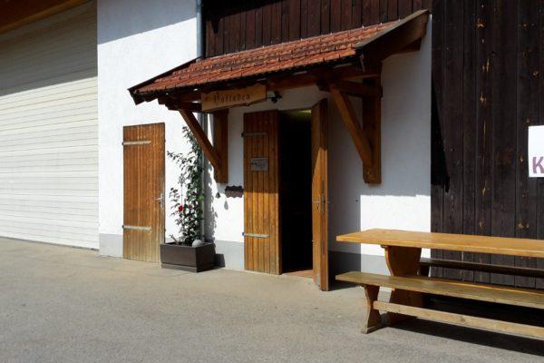 Hofladen Eingang